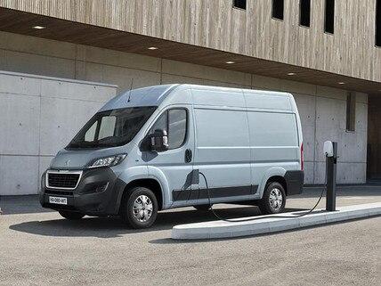 Nieuwe Peugeot e-BOXER