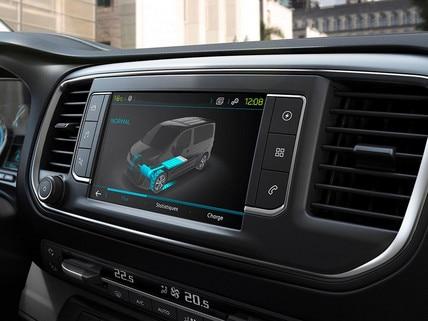 Nieuwe Peugeot e-EXPERT – 3D-touchscreen