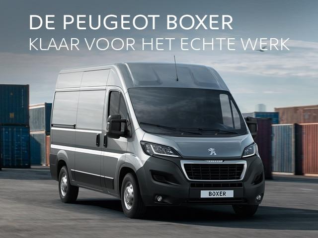 Peugeot Boxer - Klaar voor het echte werk