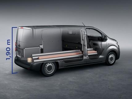 Nieuwe Peugeot e-EXPERT – Nuttig laadvolume en -vermogen