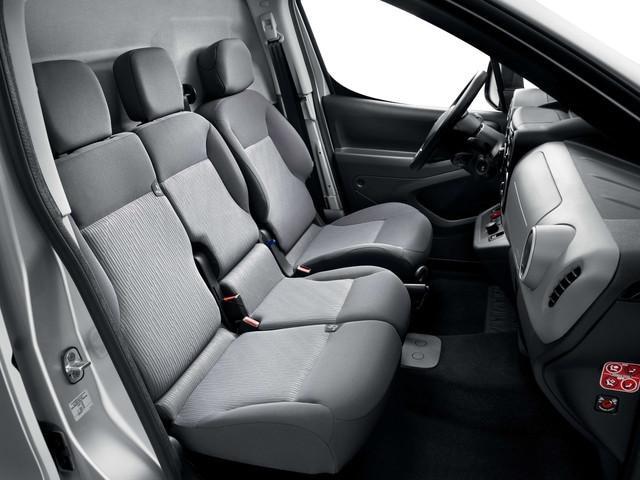 Peugeot Partner Electric - interieur