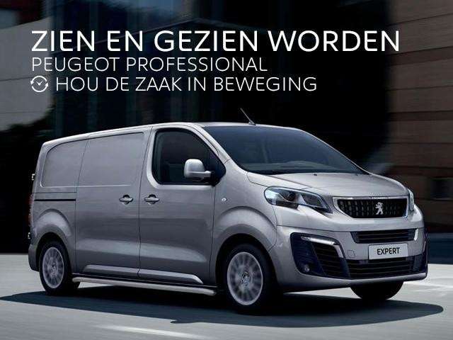 Peugeot Expert met Pack Business