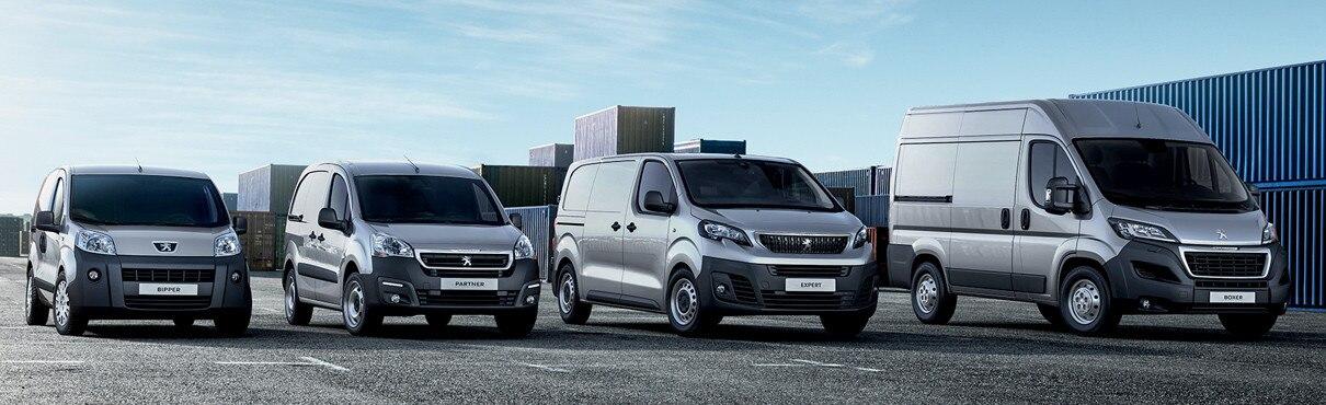 Peugeot Bedrijfsautos Gamma