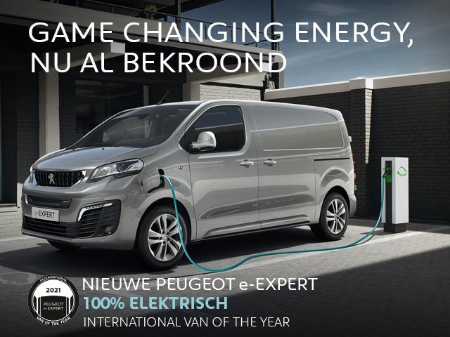 Nieuwe Peugeot e-Expert - International Van of the Year 2021