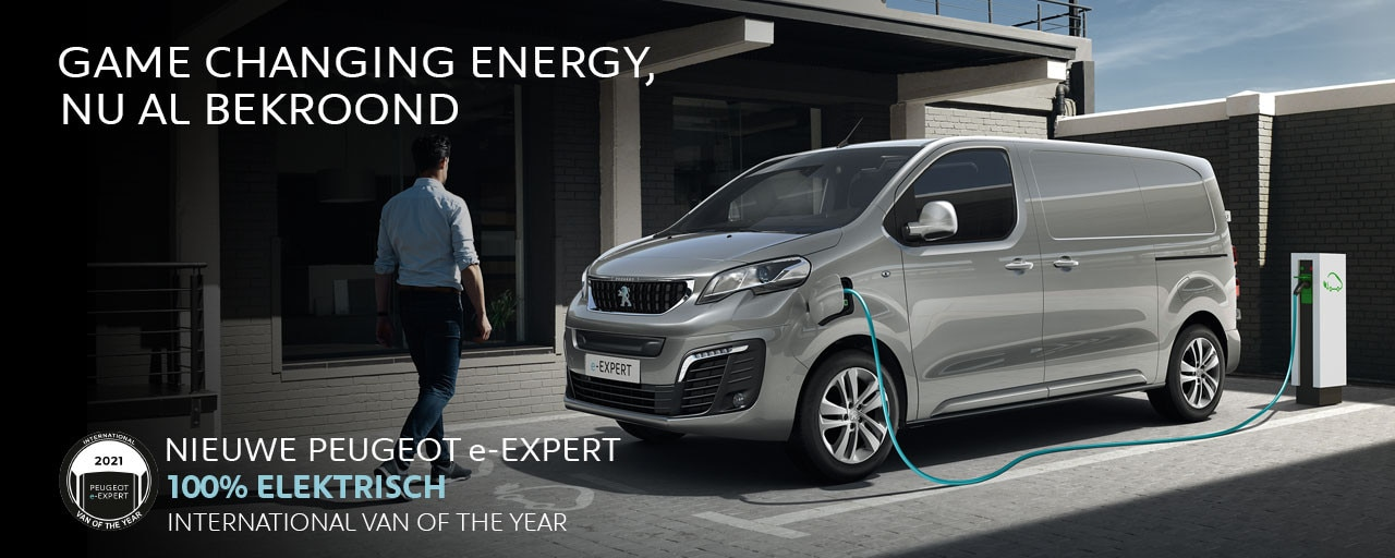 Nieuwe Peugeot e-Expert - International Van of the Year 2021