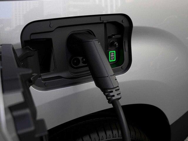Nieuwe Peugeot e-Partner - laadluik