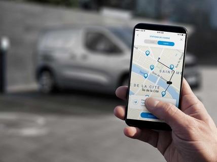 Nieuwe Peugeot e-Partner - e-Bediening vanop afstand