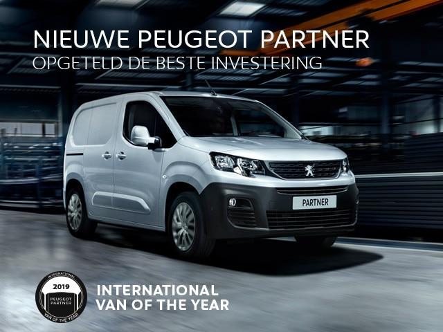 Nieuwe Peugeot Partner - Opgeteld de beste investering