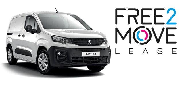 Peugeot Partner - FREE2MOVE Lease