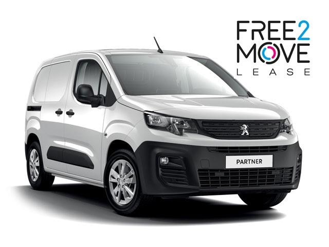 Peugeot Partner - FREE2MOVE Lease