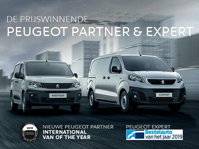 De prijswinnende Peugeot Partner & Expert