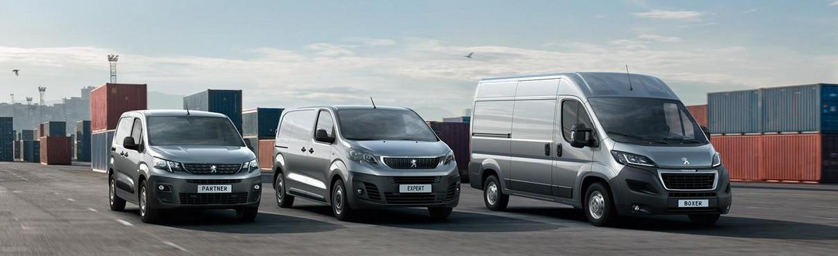 Peugeot Professional - Peugeot Partner - Peugeot Expert - Peugeot Boxer