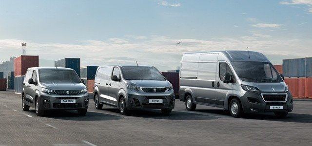 Peugeot Professional Bedrijfsauto's