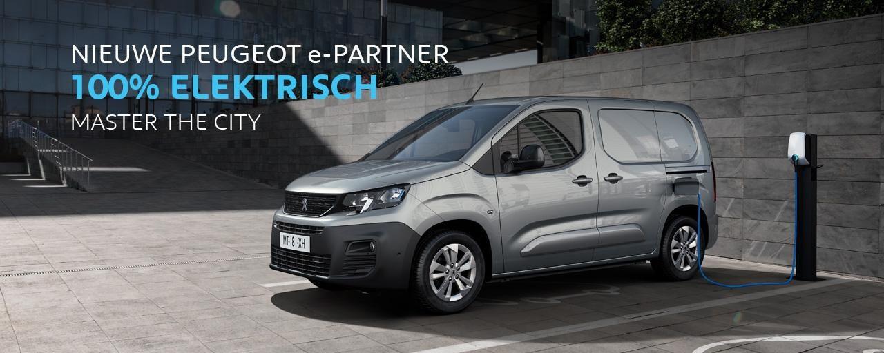 Nieuwe Peugeot e-Partner