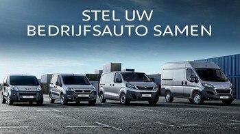Stel uw Peugeot Bedrijfsauto samen