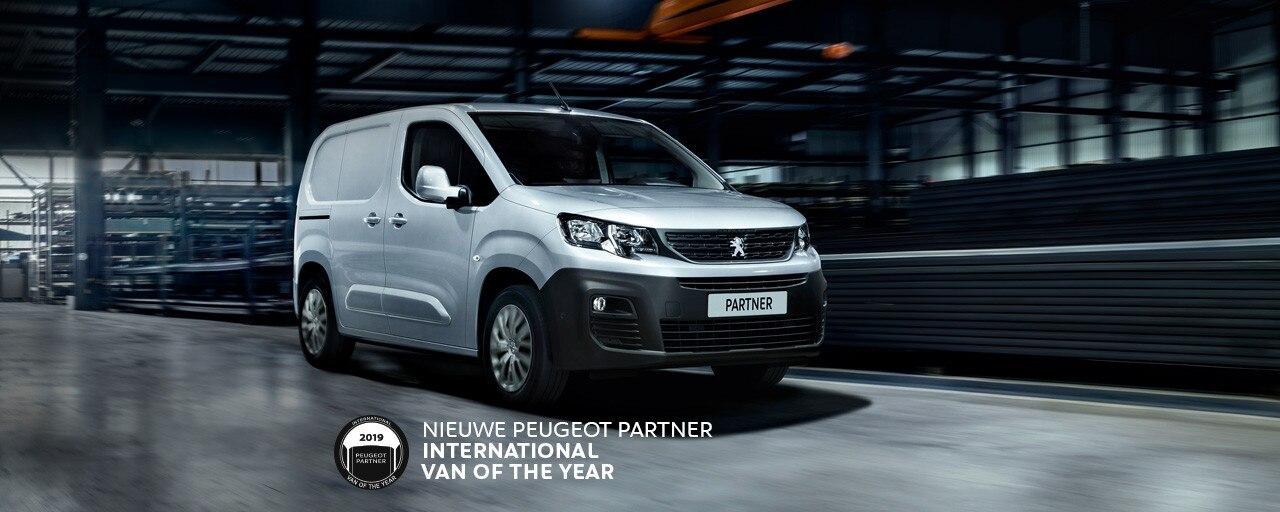 Nieuwe Peugeot Partner - International Van of the Year