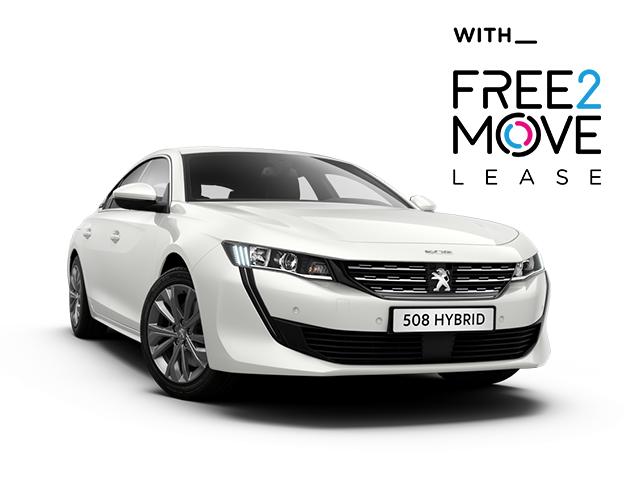 Peugeot 508 Allure Hybrid - Free2Move Lease