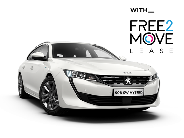 Peugeot 508 SW Allure Hybrid - Free2Move Lease
