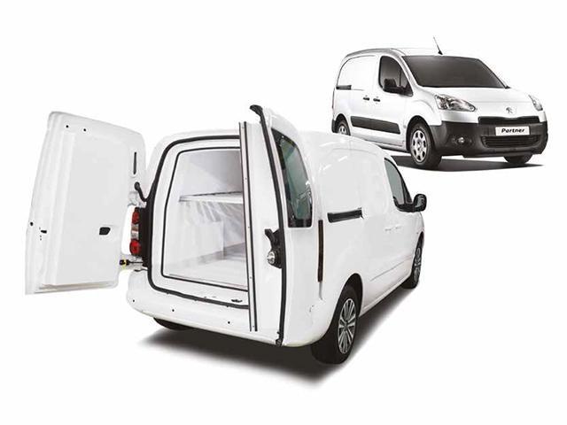 Peugeot Bedrijfsauto's - Peugeot Partner koel-/vriestransport