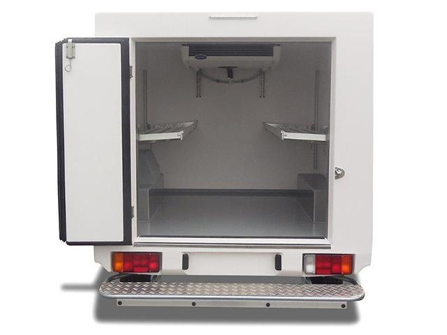Peugeot Bedrijfsauto's - Peugeot Partner opklapbaar rek - koel-/vriestransport